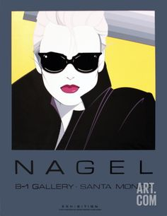 Patrick Nagel: Commemorative No. 5