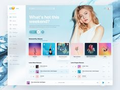 Holo Music UI Kit Desktop designed by Tom Koszyk for Hologram. Connect with them on Dribbble; the global community for designers and creative professionals. App Ui Design, Dashboard Design, Interface Design, User Interface, Ui Kit, Fluent Design, Desktop Design, Music Web, Software