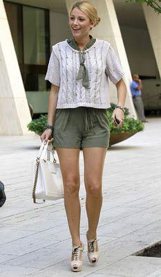 "Serena's ""Summer Hampton's"" style"