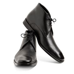 Black Ankle boot Grasso