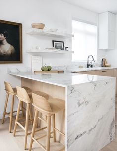 Modern Kitchen Design Trending: Blonde Wood and Mixed Woods Kitchen Room Design, Modern Kitchen Design, Home Decor Kitchen, Rustic Kitchen, Interior Design Kitchen, Kitchen Living, Home Kitchens, Kitchen Ideas, Modern Kitchens