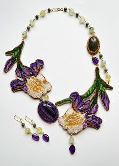 MagicBeads - everything about handmade jewellery: beads patterns, schemas, photos, ideas.