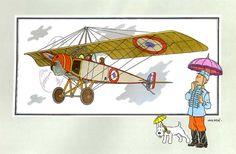 """Avion 50 : Monoplan """" Parasol """" type L des frères Morane"""