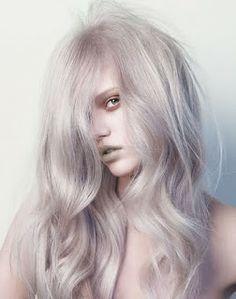 grey purple rinse
