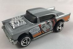 Hot Wheels '57 Chevy Chevrolet Artistic License Series Graphics Vintage Diecast #HotWheels #Chevrolet