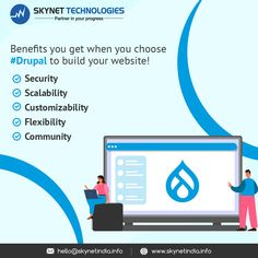 Some reasons why Drupal should be your first choice to build a website! 👉Security 👉Scalability 👉Customizability 👉Flexibility 👉Community #Drupal #Drupal8 #Drupal9 #DrupalDevelopment #DrupalUpgrade #DrupalDevelopmentCompany #DrupalServices #DrupalSecurity #DrupalMaintenance #DrupalMigration #DrupalMigrate #DrupalAgency #WebsiteMaintenance #DrupalDeveloper #Drupal9Website #Drupal9Features #DrupalCMS #DrupalWebDevelopment #DrupalDevelopment #DrupalExperts #DrupalWebsite #USA #Australia