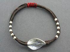 twist bead bracelet Beaded Bracelets, Brass, Pearls, Sterling Silver, Gifts, Beautiful, Jewelry, Presents, Bijoux