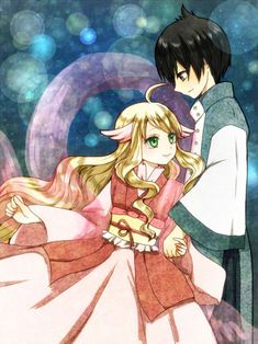 Mavis & Zeref.My mom and dad ~Lulu