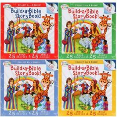 My Build-A-Bible Storybooks Books and CD Sets (Set of 4)