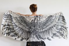 beautiful scarves will give you wings
