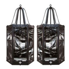 Large Industrial Lanterns - A Pair - $3,500 Est. Retail - $2,500 on Chairish.com