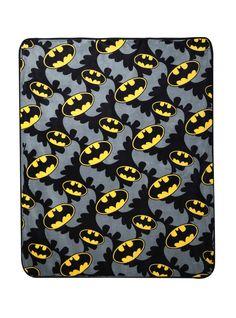 Who wouldn't want a Batman Super Plush Throw?