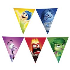 Inside Out Birthday Banner #insideout #partybanner #birthdaybanner #banner #insideoutbanner #insideoutbirthday #insideoutparty