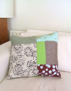 Cojines de patchwork on pinterest patchwork quilt and pillows - Cojines de patchwork ...