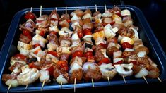 Skewers, Sausage, Bacon, Grilling, Bbq, Food And Drink, Meat, Recipes, Kitchen