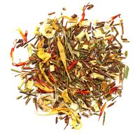Crème Brûlée Green Rooibos Tea (green and red rooibos, safflowers, calendula and marigold)