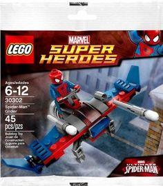 LEGO Marvel Super Heroes Exclusive Set #30302 Spider-Man Glider [Bagged]
