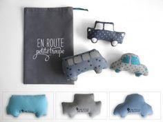 Voitures de Voyage : En route, Petite Troupe! (Grise)  : Jeux, jouets par une-etoile-dans-ma-cabane sur ALittleMarket
