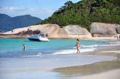 Paradise on earth exists! Santa Catarina isn't the biggest state of Brazil, but it is certainly one of the most beautiful states. Beautiful white...