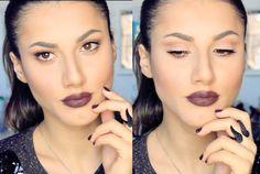 Natural Eyes& Dark Lips By Gokceslife youtube/gokceslife