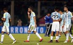 Lionel Messi played down the row were eventually eliminated after a draw in two matches