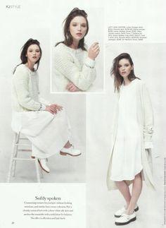 Kowtow - Once Upon a Time Cardigan - Fashion Quarterly Magazine, February 2016