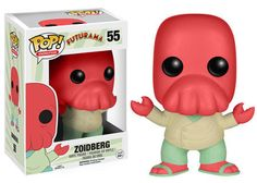 Funko POP! Animation 55: Futurama - Zoidberg - Vinyl Figure - FEBRUARY PREORDER