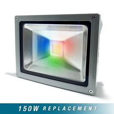 30W RGB Colour LED Floodlight