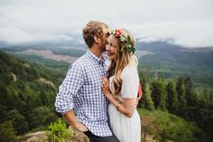 Oregon Mountain Hike Engagement | Cambria + Ross