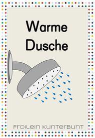 warme dusche  unterrichtsmaterial in den fächern