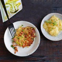 Rezept: Kartoffel-Pfifferlingspuffer