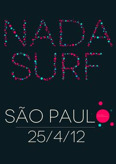 nada surf posters - Google Search Surf Posters, Music Posters, Nada Surf, New Flyer, Surfing, Google Search, Surf, Surfs Up, Surfs