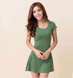 Cheap dresses causal, Buy Quality dresses for small girls directly from China dress case Suppliers: 2015 New Summer Style Women Dress ladies Short Sleeve Sexy Lace Dress Bottoming Dress Loose plus size Summer Dress vesti