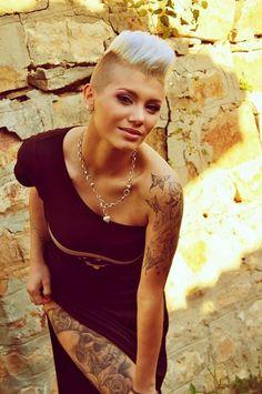 15 extreme Kurzhaarfrisuren für coole Frauen mit viel Courage! - Neue Frisur