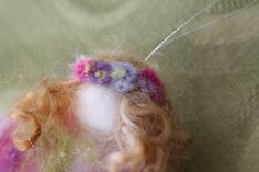 tutorial how to make needle felted angels garland waldorf inspired moms