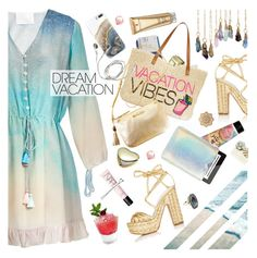 """""""My Dream Vacation"""" by ladysnape ❤ liked on Polyvore featuring Athena Procopiou, Alchimia Di Ballin, Nanette Lepore, Sephora Collection, INC International Concepts, Lilly Pulitzer, Bumble and bumble, NARS Cosmetics, Elizabeth Arden and STELLA McCARTNEY"""
