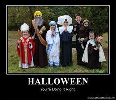 halloween for Catholic Families