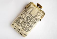 iPhone Case iPhone sleeve gadget case- Notre Dame de Paris  ( iPhone 5, Samsung Galaxy s3 Size available). via Etsy.