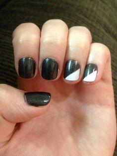 Shellac nail art #shellac