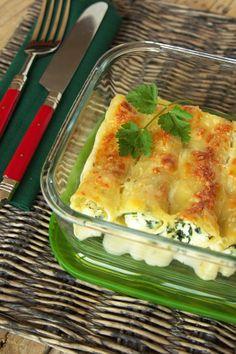 Cinco Quartos de Laranja: O que fazer quando nos sobra pescada cozida? Cannelloni de pescada com requeijão