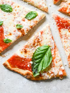 Easy thin pizza crust - for the oven OR the grill!