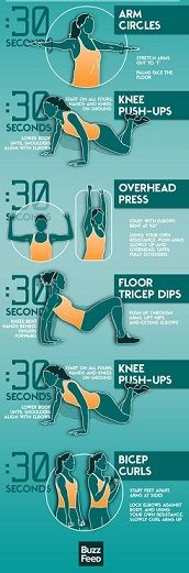 Here are some ideas for those are brand new to working out!