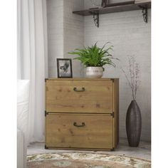 kathy ireland Office by Bush Furniture Ironworks Lateral File | Overstock.com Shopping - The Best Deals on File Cabinets