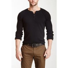 Brown pants and thermal shirt to keep warm on show site. Communications love the brown pants Outfits Casual, Mode Outfits, Men Casual, Men Fashion Casual, Casual Guy Clothes, Casual Mens Clothing, Mens Fashion Outfits, Fashion For Men, Trendy Fashion