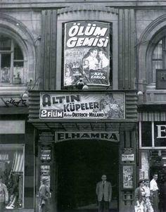 Elhamra sineması Beyoğlu