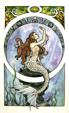 Google Image Result for http://fc06.deviantart.net/fs70/i/2010/195/a/3/Art_Nouveau_Mermaid_by_Farothiel.jpg