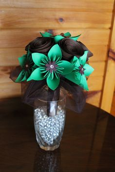 Green and Brown Bouquet