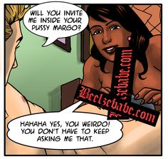 Now, why would Wade ask for an invite in to Margo's pussy do you think? You Horror fans out there have any theories on this?  Beelzebabe.com is a free daily updating online porn comic with a bit of humor and supernatural flavoring thrown in for good measure.