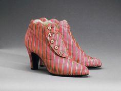 1939-1940 Elsa Schiaparelli ~Boots;The Philadelphia Museum of Art, Philadelphia, PA, USA