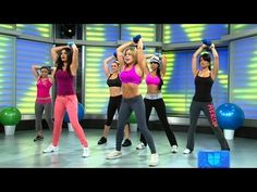 Despierta America - Ejercicios para hacer brazos bien torneados/Upper Body Exercises Herbalife, Zumba, Patricia Gonzalez, Health And Wellness, Health Fitness, Healthy Exercise, Sweat It Out, Workout Videos, Excercise